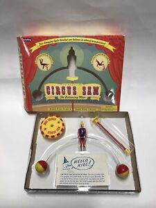 Schylling Circus Sam The Balancing Man Childrens Toy in box
