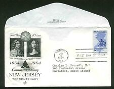 1247 NEW JERSEY FDC ELIZABETH, NJ ART CRAFT AYERST LABS VARIETY CACHET