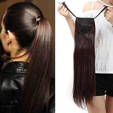 Extensions de cheveux queues de cheval bandeaux pour femme
