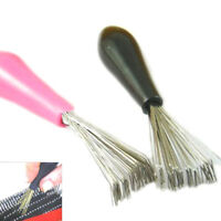 Comb Hair Brush Cleaner Cleaning Remover Embedded Tool Plastic Handle Beauty UK