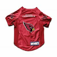 NEW ARIZONA CARDINALS DOG CAT DELUXE STRETCH JERSEY