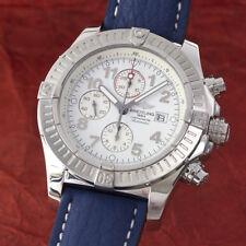 Breitling Super Avenger Chronograph Stahl Automatik Herrenuhr A13370 VP: 4910,-