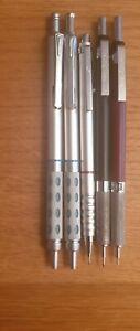 Rotring. Pentel GraphGear 1000 ,Berol mixed pencil and rollerbal mixed lot