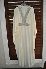 AMAZING Vintage 60s ALFRED SHAHEEN Goddess Angel Party Hostess Caftan Dress