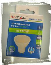 FARETTO LED GU10 5w - SMD GU10 3000°k 110° - 320lm -Luce Calda