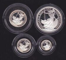 2012 BOXED PROOF BRITANNIA SILVER COLLECTION 4 COIN SET