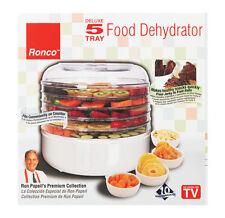 Ronco Food Dehydrator 5 Trays