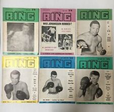 BOXING RING MAGAZINE LOT OF AUSTRALIAN RING LOT OF 6