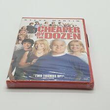 Cheaper by the Dozen by Steve Martin, Bonnie Hunt, Hilary Duff, Widescreen NEW