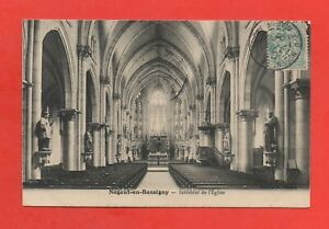 Nogent De Bassigny - Interior De la Iglesia (K4243)