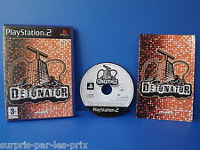 DETONATOR - JEU PLAYSTATION 2 - PS2 - avec notice