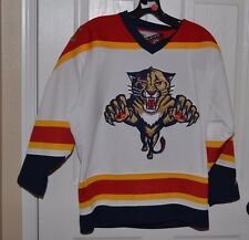 Florida Panthers Pro Player Vintage Sewn Stitched Hockey Jersey Youth Boys S/M