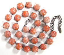 Modeschmuck-Halsketten & -Anhänger aus Glas und Gemischte Metallen mit Cabochon