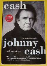 Cash 1997 The Autobiography of Johnny Cash Soft Cover Great Pictures! See!