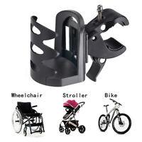 Halterung Getränkehalter Trinkwasserflasche Becherhalter Radfahren Rollstuhl