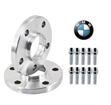 15mm Hubcentric Wheel Spacers BMW E36 E46 323 325 328 330 M3 10 Chrome Lug Bolts
