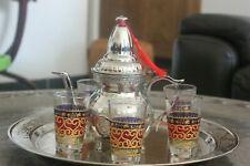 Authentic Copper Morrocan Tea Set
