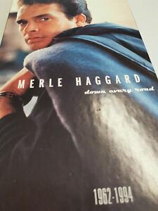 MERLE HAGGARD down every road 1962-1994 4-CD-Longbox + Booklet