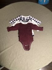 Hudson Baby 9-12 Months Body Suit