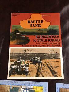 Battle Tank Barbarosa to Stalingrad Atari ST - Simulations Canada
