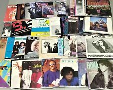 "1980's Vinyl Records w/ Picture Sleeves 250 Choices #3 7"" 45rpm Rock Pop R&B 45s"