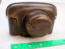 Canon Brown Leather Camera Case for Rangefinder IIb III IVF SB   S2102018