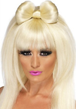 Pop Sensation Wig, Blonde, Long with Bow (US IMPORT) COST-ACC NEW