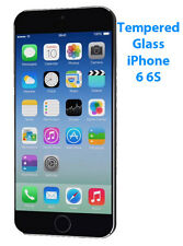 10X Apple iPhone 6 6S Clear Tempered Glass Screen Protector Guards