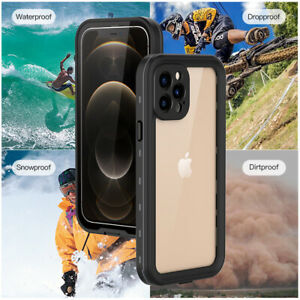 For iPhone 12/12 Mini 12 Pro/Max Waterproof 360° Full Body Protective Case Cover
