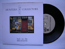 Hunters & COLLECTORS - Back on the Breadline, I. r.s. irm-177 EX état 17.8cm