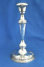 "Wallace Grande Baroque Sterling Silver 10"" Candlestick No Mono Mint Condition"
