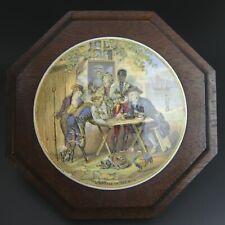 More details for victorian framed coloured prattware pot lid 'the battle of the nile'