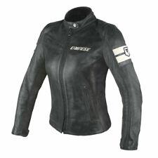 Dainese Lola D1 Lady Leather Jacket Women's EU 40 Black/Ice #253378172440