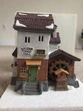 Dept 56 Heritage Village Collection Alpine Village Series Stoder Grist Mill 5953