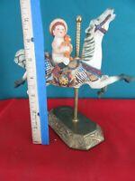Carousel Memories Americana Collection Willits Designs Girl Teddy Bear 1864/9500