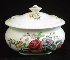 "Spode Oblong Covered Sugar Bowl 4.25"" 'Romney' Pre 1970 VGC | FREE Delivery UK*"