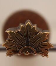 Fer à Dorer Fleuron modèle XVIIIe s Bronze Reliure Doreur Relieur #26