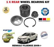 para Renault Fluencia 2010> NUEVO TRASERO x 1 KIT DE RODAMIENTOS + TUERCA BUJE