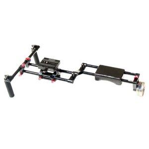 Shootvilla DSLR Camera Rig Shoulder Mount Support Stabilizer Kit Height riser QR