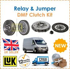 For Citroen Jumper Peugeot Boxer 206- LUK Dual Mass Flywheel + Clutch Kit New