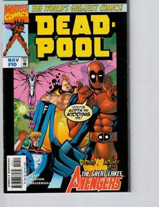 Deadpool #10 (1997) NM+ 9.6/9.8  Direct Edition