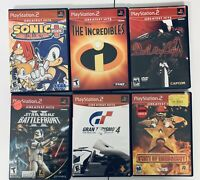 Lot Of 6 Sony Playstation 2 Greatest Hits Games Complete & Tested