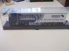 "AWM MB Actros 1848 Sattelzug ""News for Logistics"" Schmitz Cargobull Lim.Edition"
