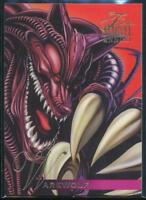 1995 Flair Marvel Annual Trading Card #99 Warewolf