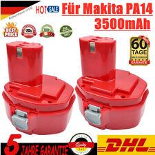 2X 14.4V 3.5Ah Ni-MH Ersatzakku für Makita PA14 1420 1422 1433 1434 1435F 1051D