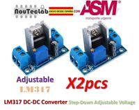 2pcs LM317 DC-DC Converter Adjustable Linear Regulator Step Down Circuit Board