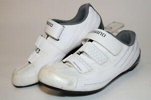 Shimano Womens 39 7.2 7 RP2W Indoor / Road Bike Cycling Cleats Shoes SH-RP200