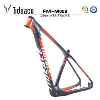 29er PF30 Carbon Fiber T800 Mountain Bike Frames OEM MTB Bicycle Frameset