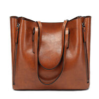 Fossil Vintage Style Handbags Leather Shoulder Ipad Leather Tote Bag