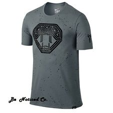 Nike Kobe Snake Perfection Men's T-Shirt S Gray Casual Training Basktball New
